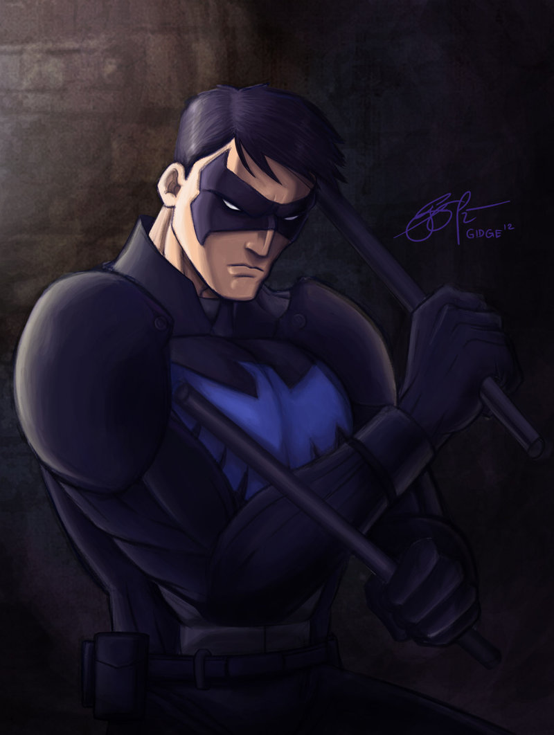 Nightwing Young Justice Invasion by gidge1201 800x1062