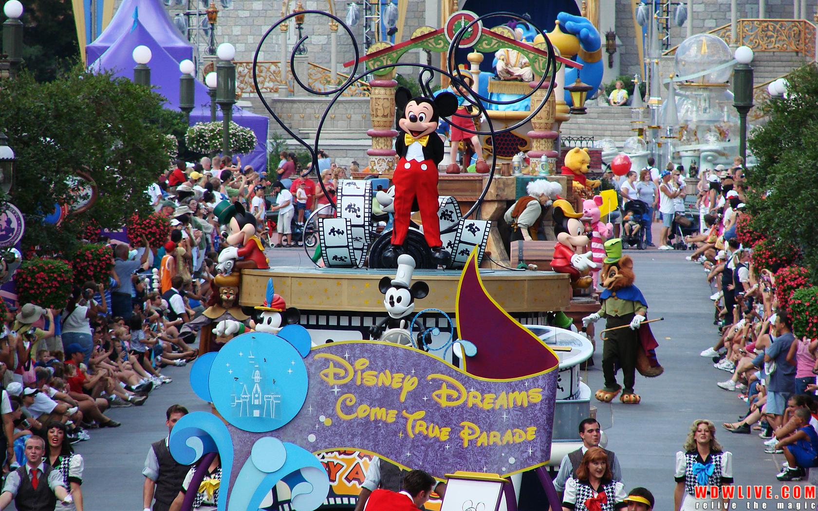 Disney Dreams Come True Parade Disney Desktop Wallpaper 1680x1050
