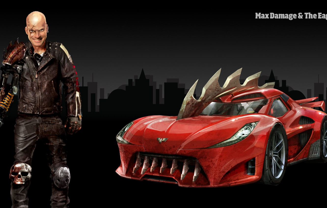 Wallpaper The game People Car Carmageddon Reincarnation Max 1332x850