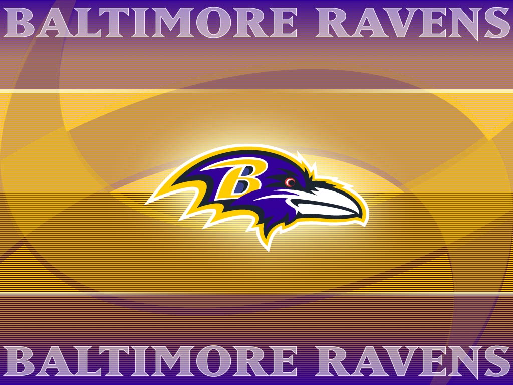 Baltimore Ravens Logo Wallpaper 1024x768