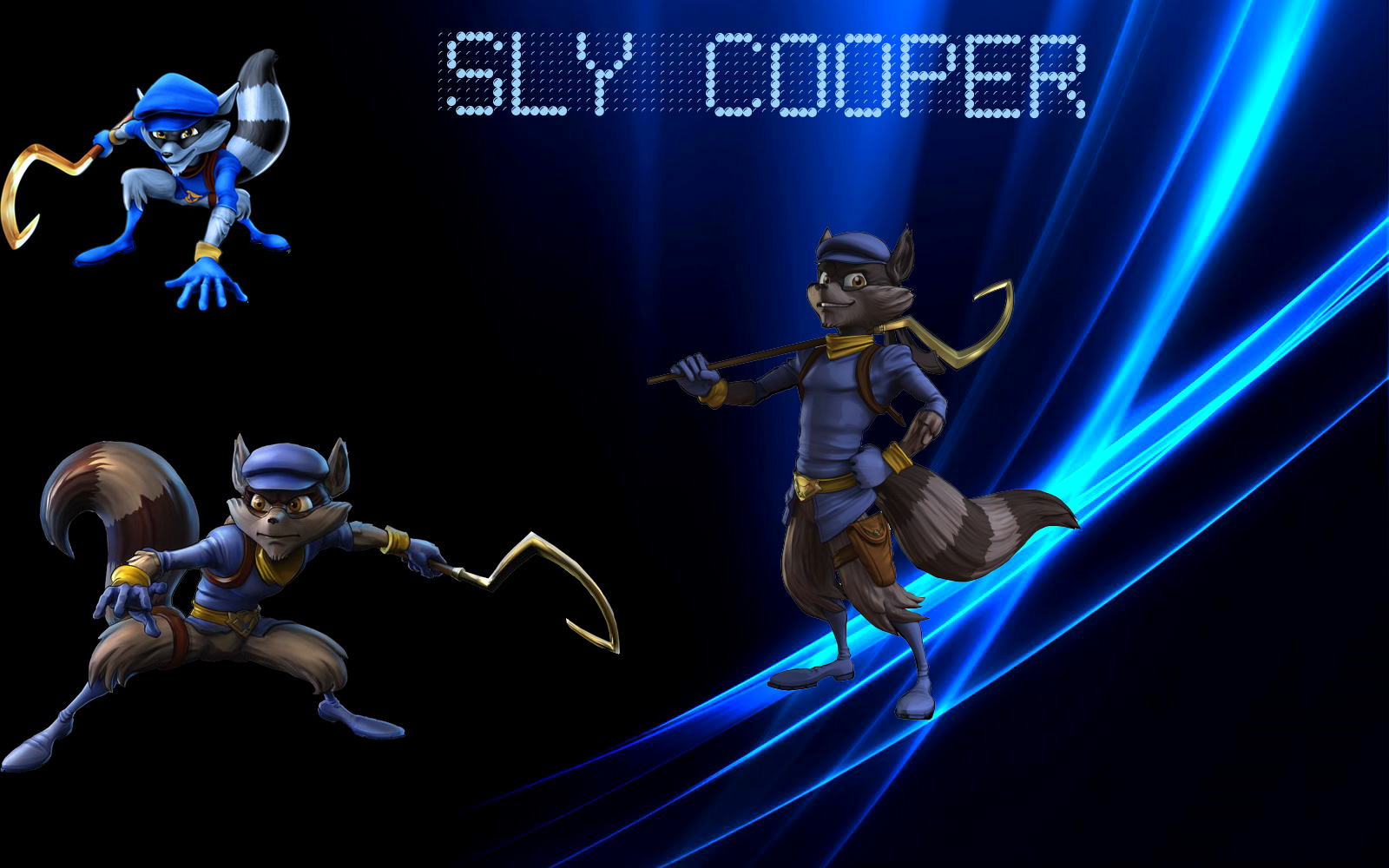 sly cooper wallpaper by mordecai9999 customization wallpaper mac pc os 1600x1000
