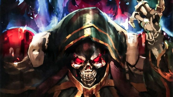 Download Overlord Anime Momonga Wallpaper Art Skull 2560x1440 Anime 728x410
