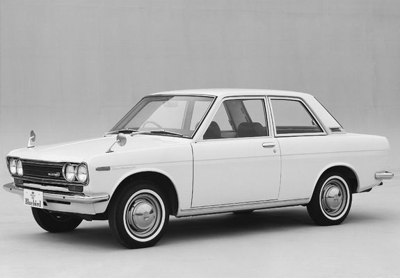 Wallpapers of Datsun Bluebird 2 door Sedan 510 P 196772 575x400