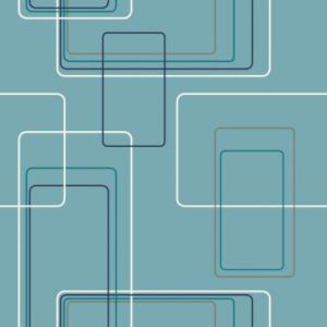 Aqua Geometric Wallpaper - WallpaperSafari