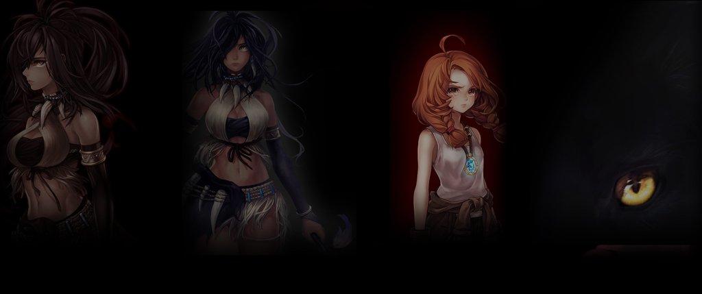 Free Download Wallpaper 3440x1440 Anime Game Char 145235