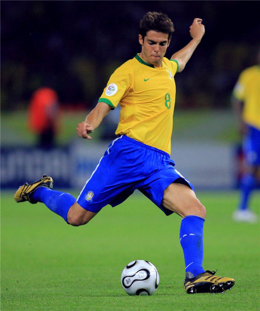 footballplayerMAd kaka brazil football teamjpg 858x1024