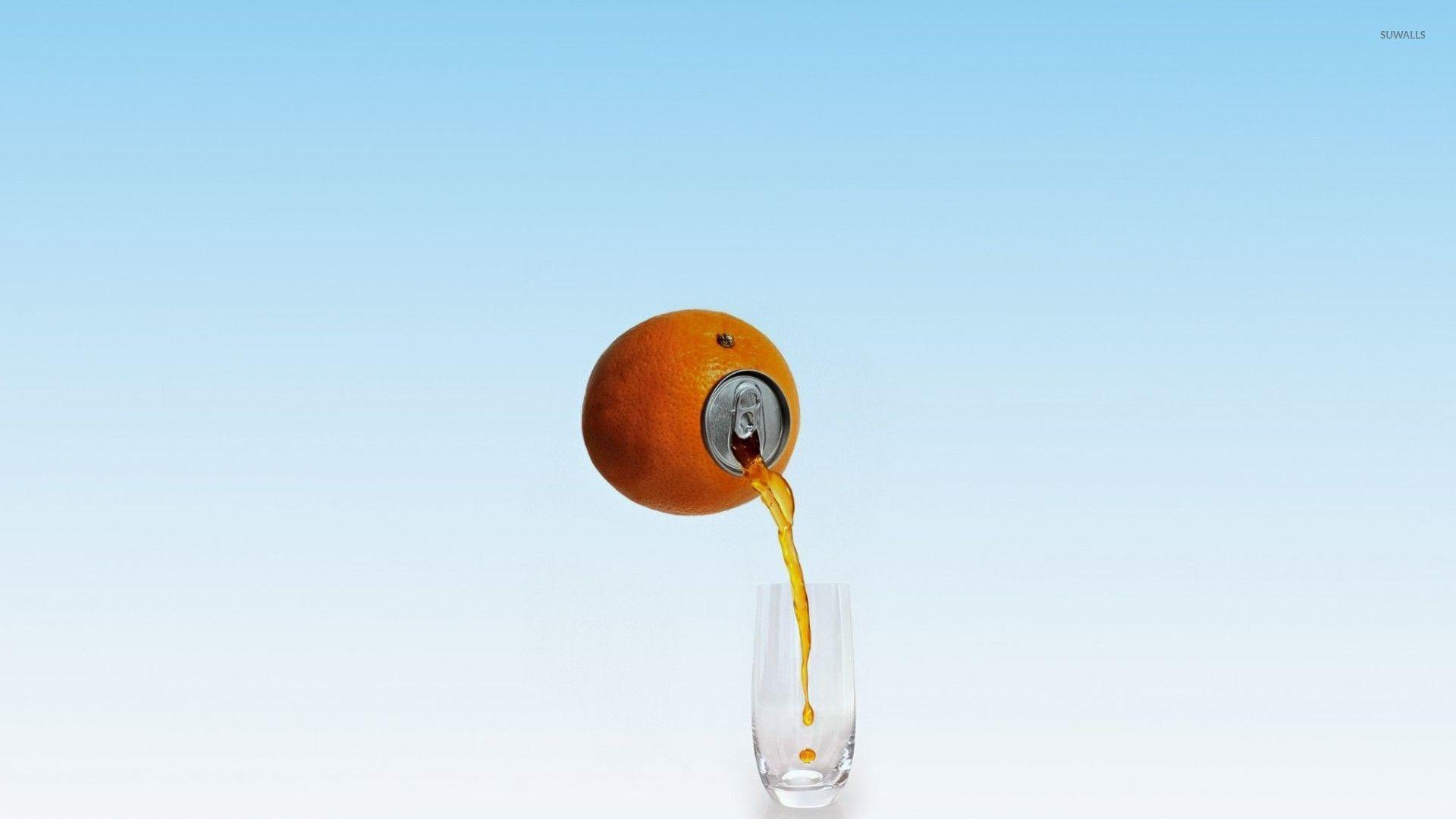 Orange juice wallpaper 1920x1080 1920x1080