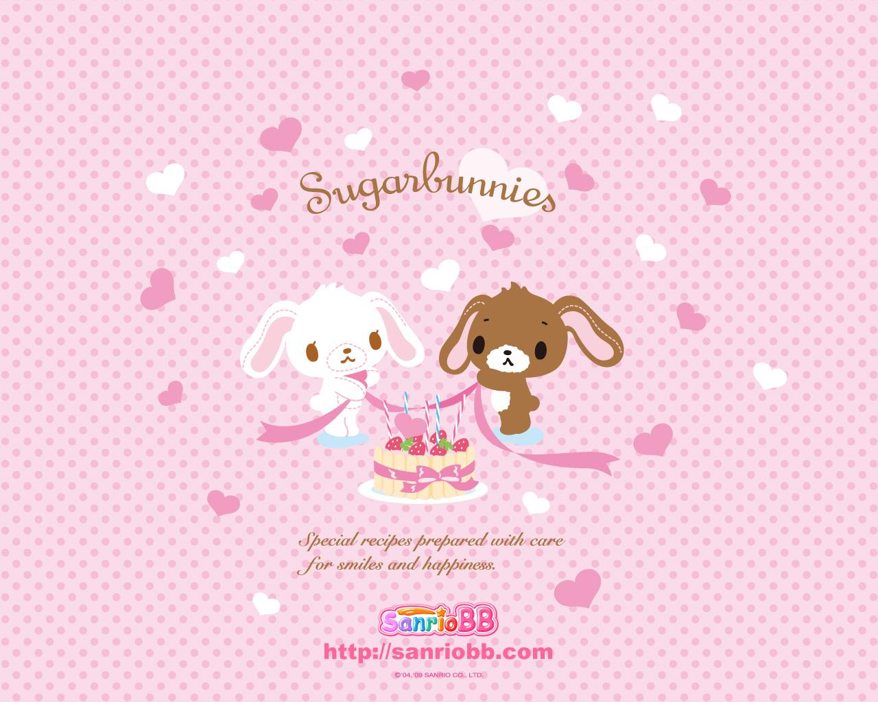 Wallpaper Sugar Bunnies Wallpaper 002 1280x1024