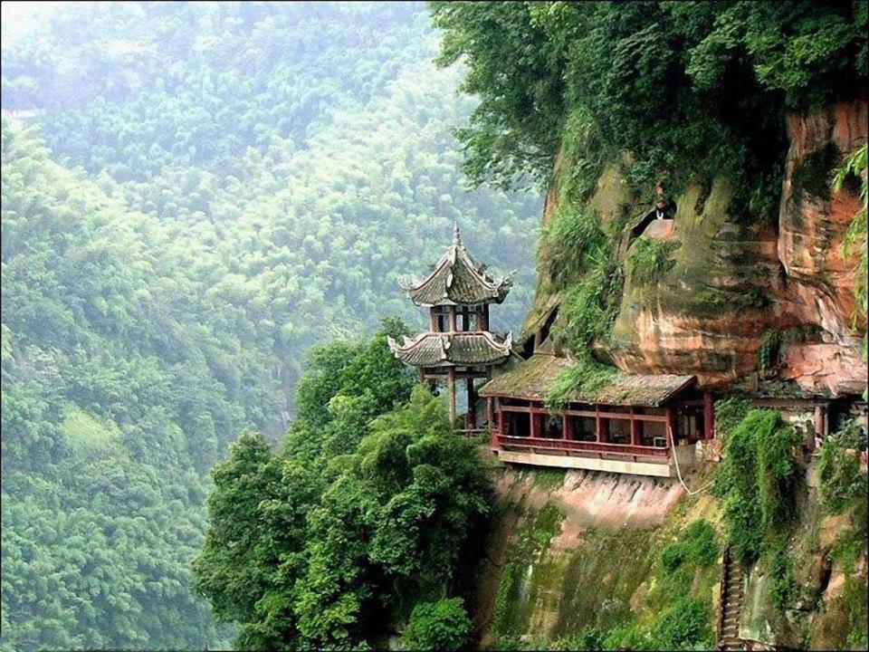 Beautiful Mountain House Forest HD Wallpaper HD Background Wallpaper 960x720