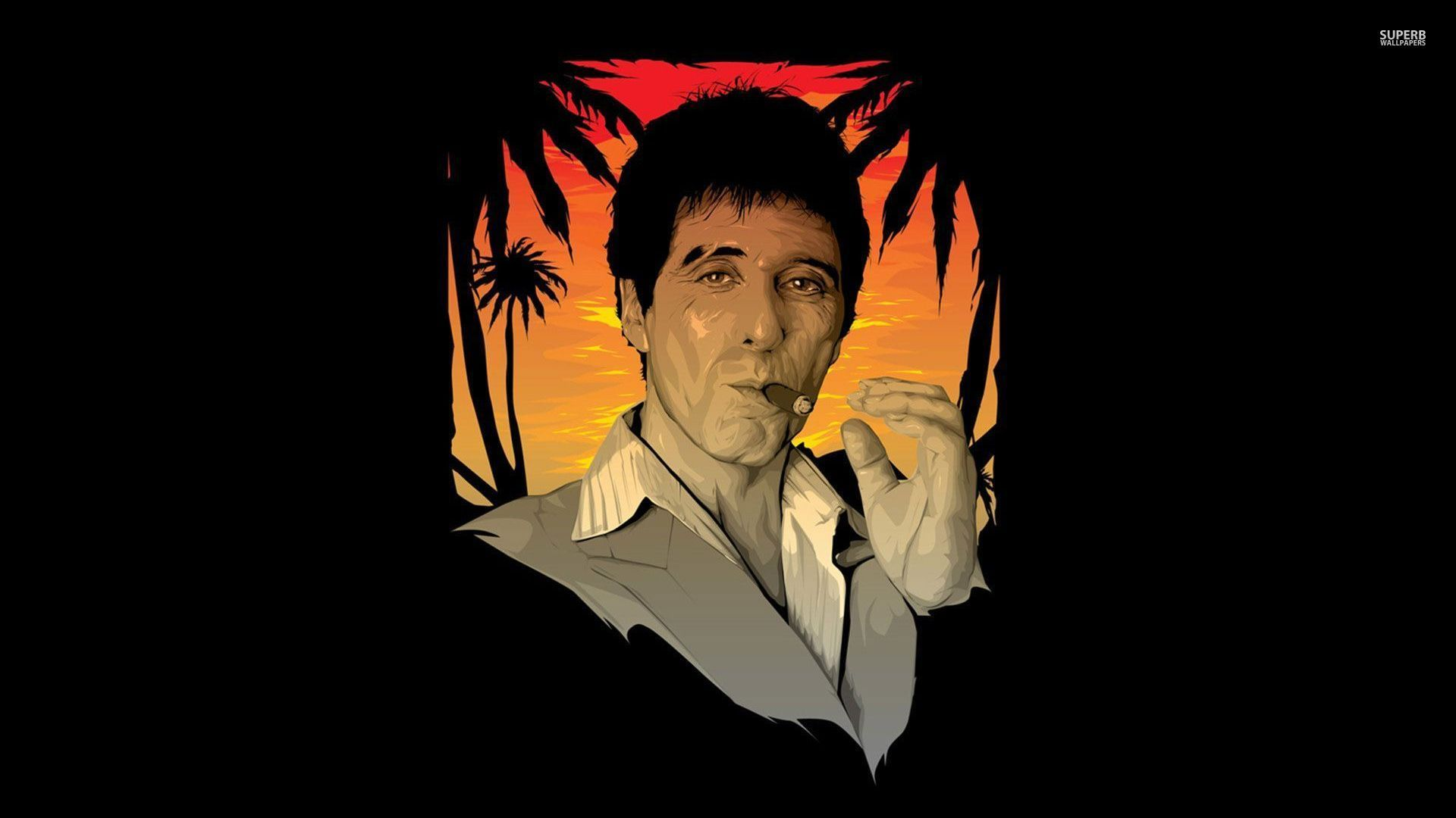 tony montana scarface 29459 1920x1080 scarface wallpaper HD 1920x1080