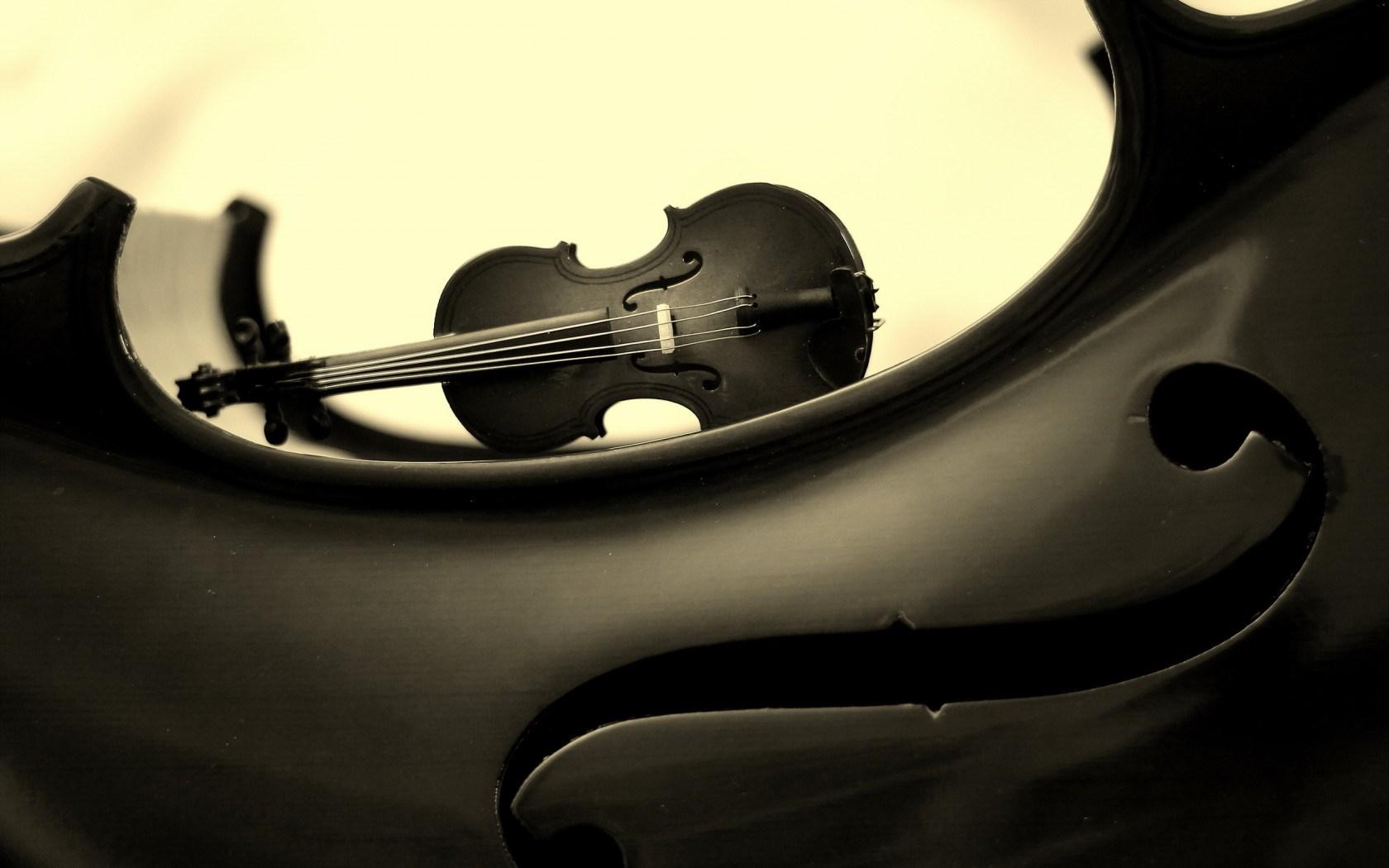 violin art music black and white vintage background wallpaper 1680x1050