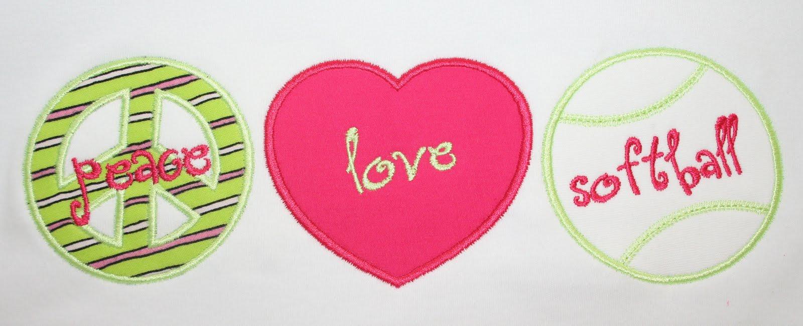 Peace Love Softball Signs Softball Is My Life I Love Softball 1600x651