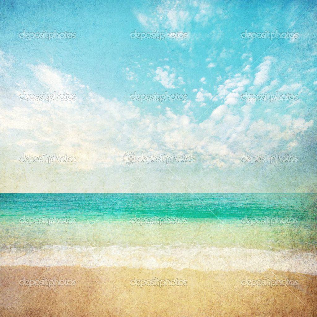 Summer Beach Background 1024x1024