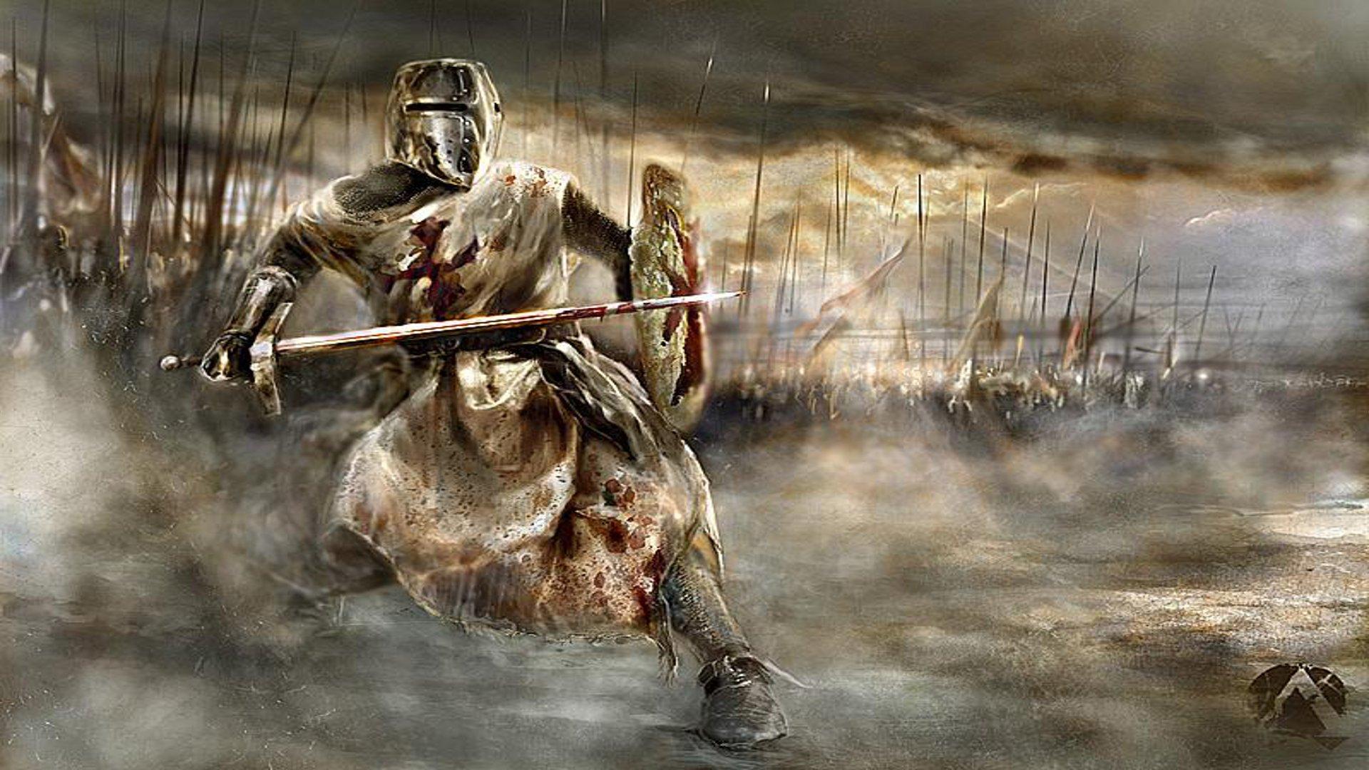 Crusader Knight Wallpaper 1920x1080 Crusader Knight 1920x1080