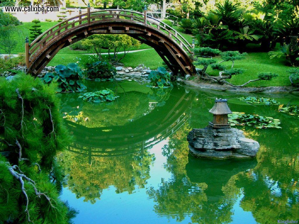 Japanese Garden Bridges 10 Japanese Garden Bridge   she777 1024x768