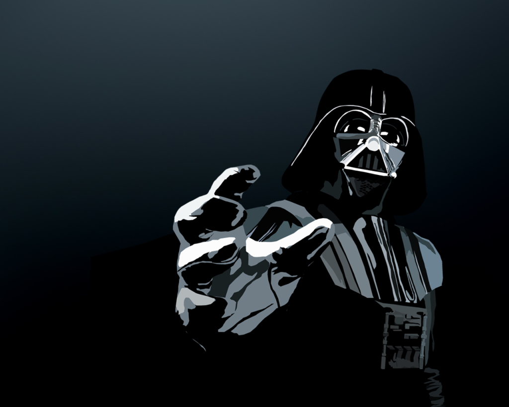 vader the dark side force wallpaper background img image picture pic 1024x819