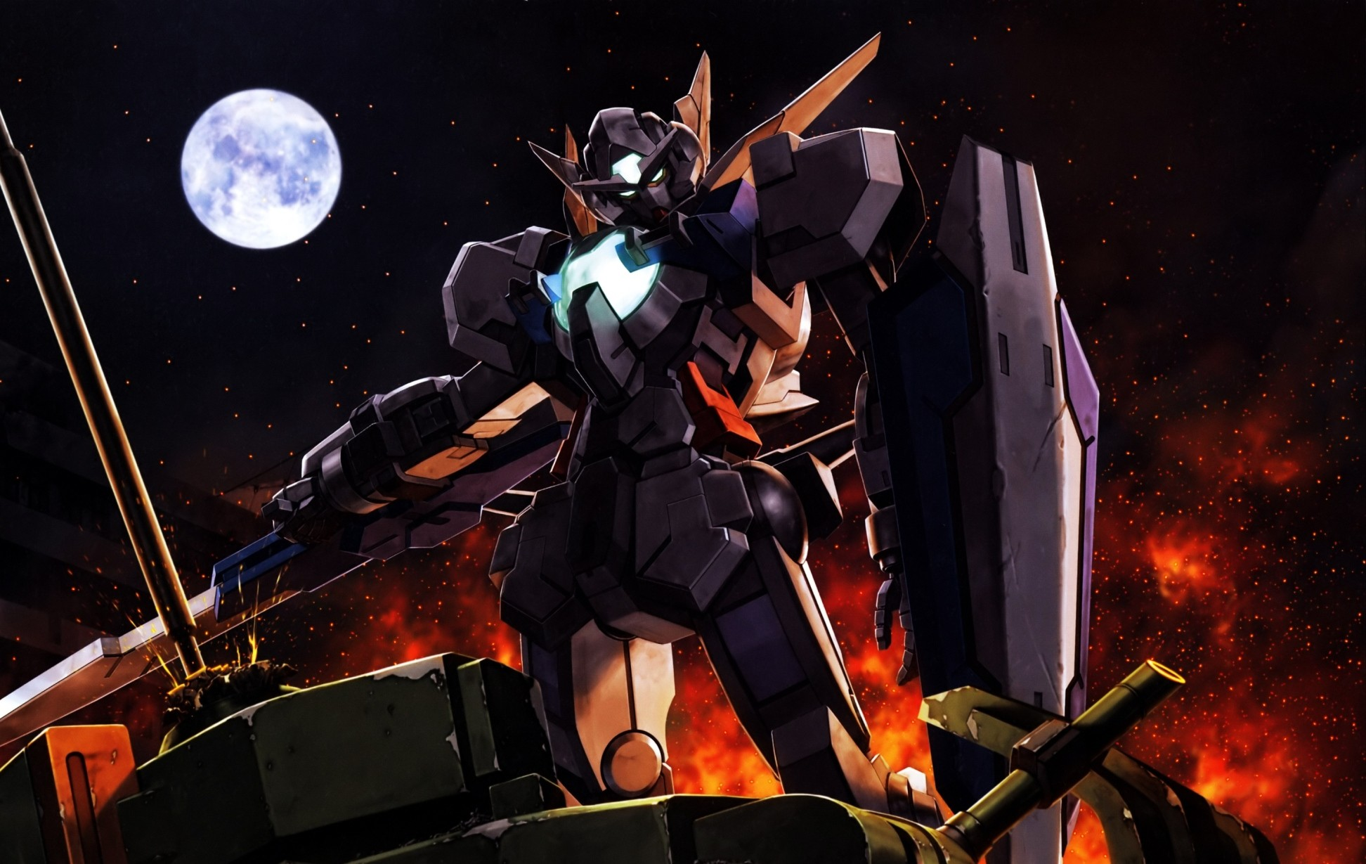 Gundam Background Wallpapers WIN10 THEMES 1944x1229