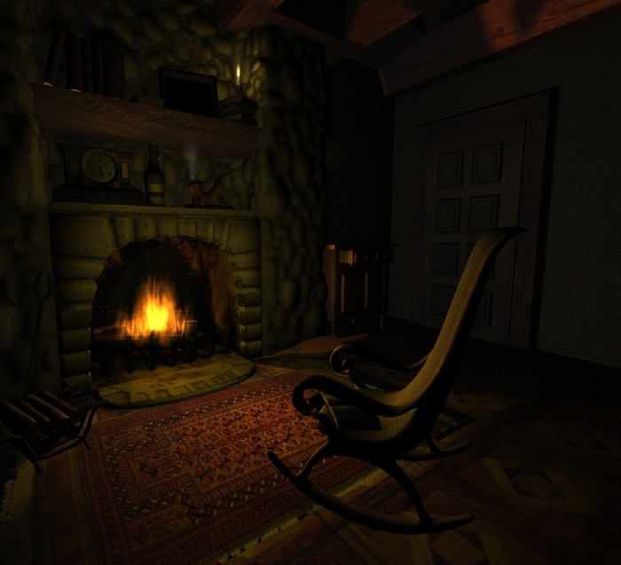 Fireplace   Animated Screensaver   Download 700x637