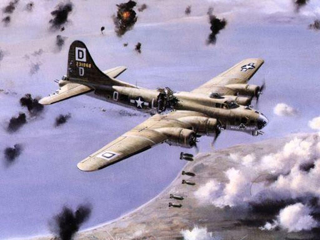 B17 Flying Fortress Wallpapers 1024 x 768 1024x768