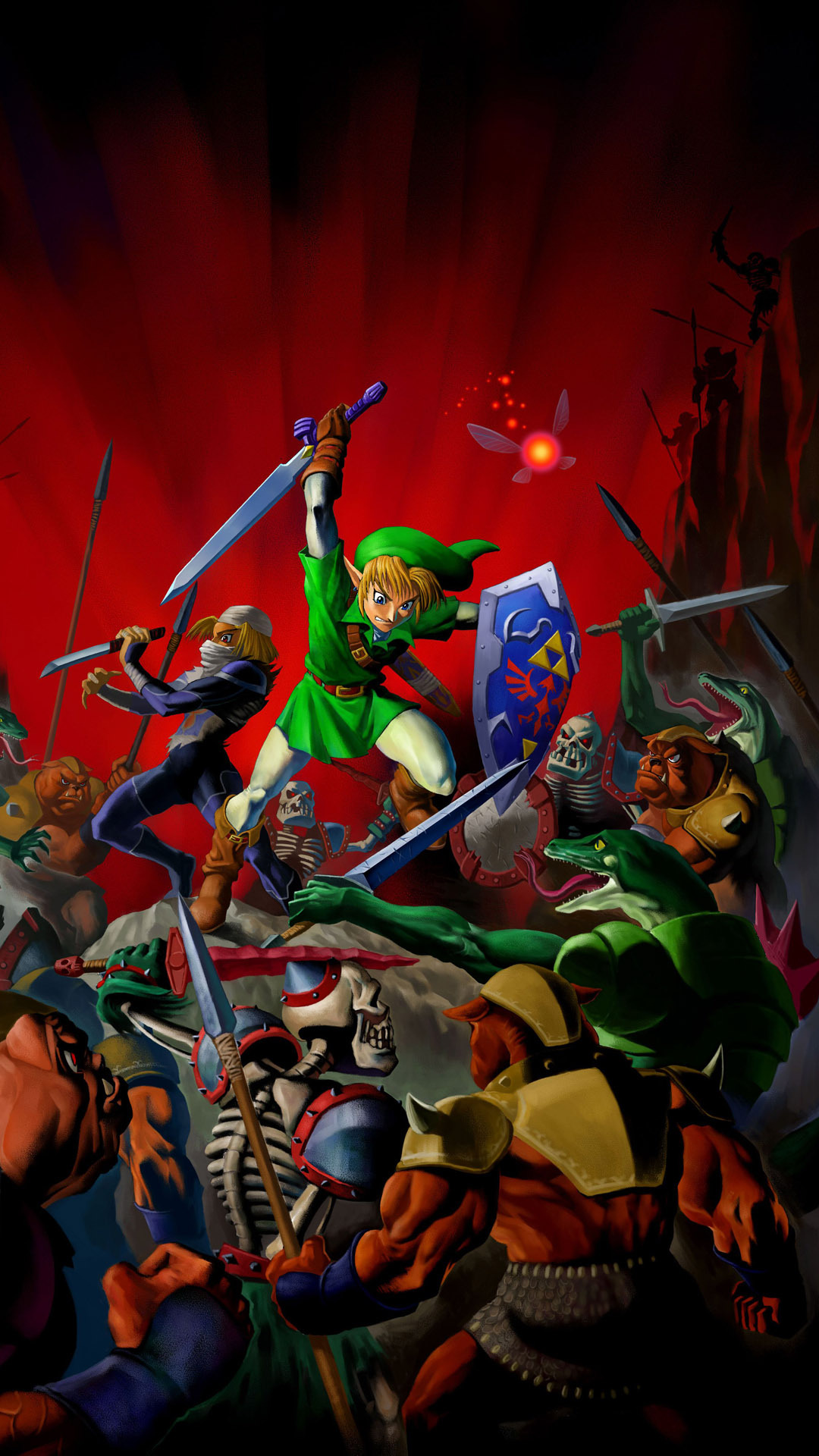 Free Download Hd Legend Of Zelda Link Mobile Phone Wallpapers