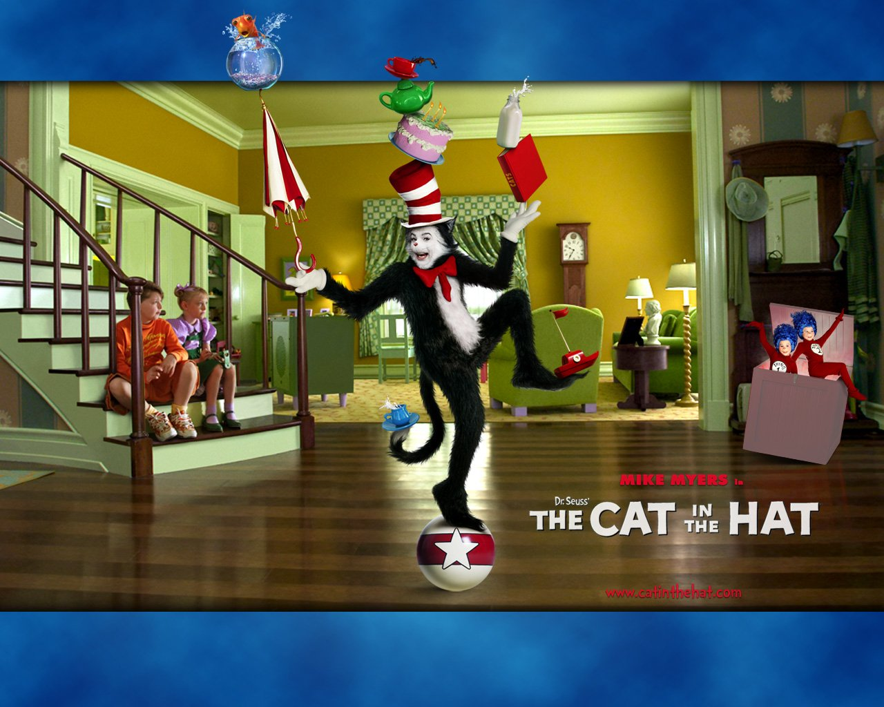 Dr Seuss The Cat In The Hat Wallpaper and Background 1280x1024