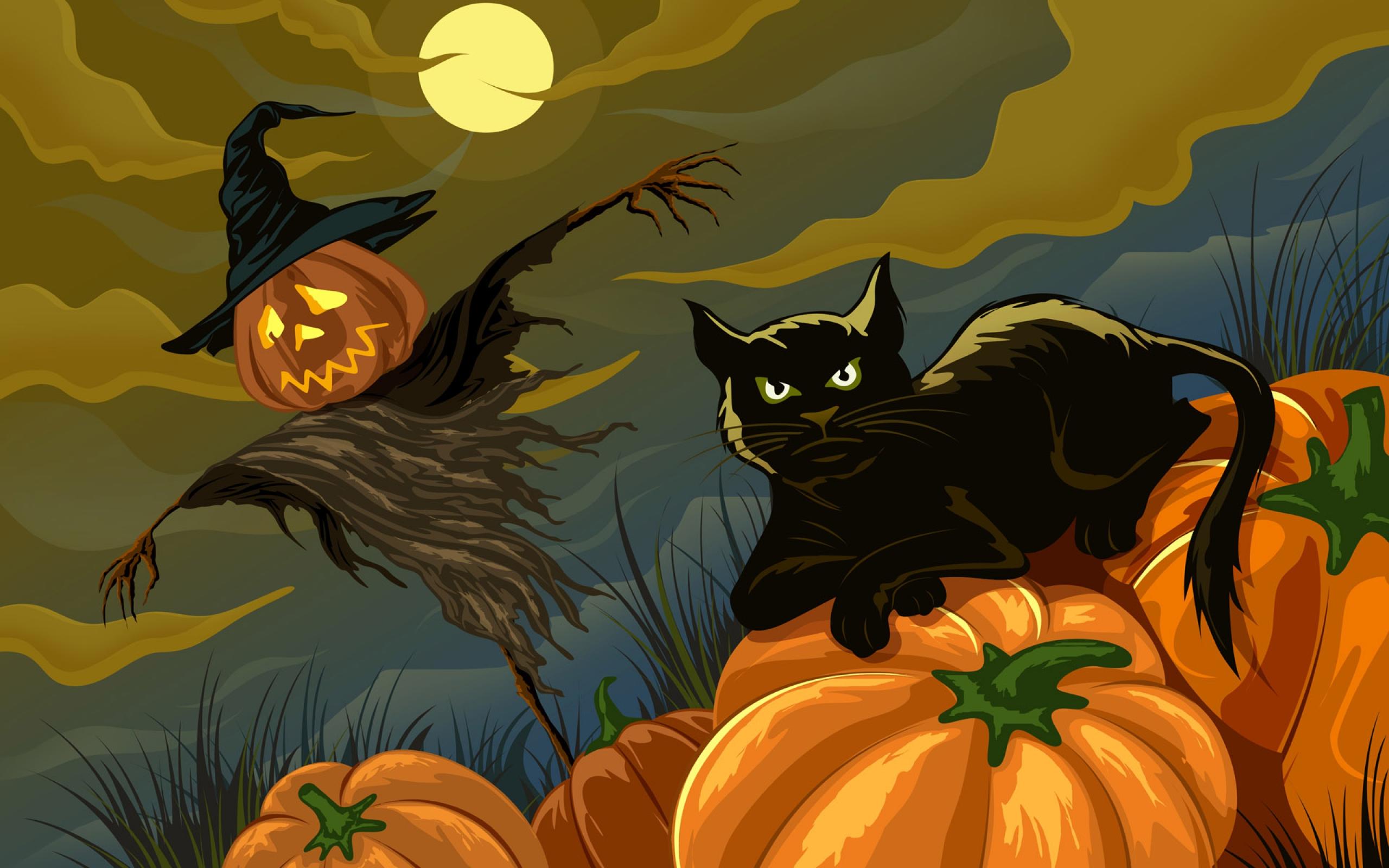 40 Halloween Kitten Wallpaper On Wallpapersafari