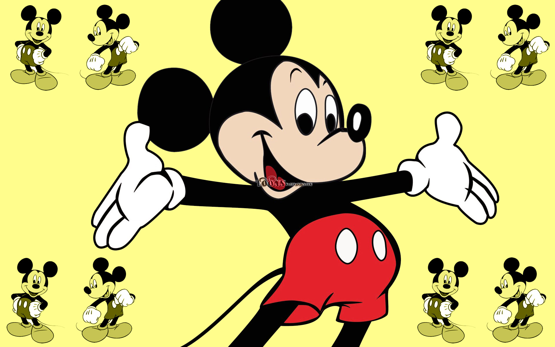 wallpaper mouse mickey wallpapers cartoons toonswallpapers 1920x1200