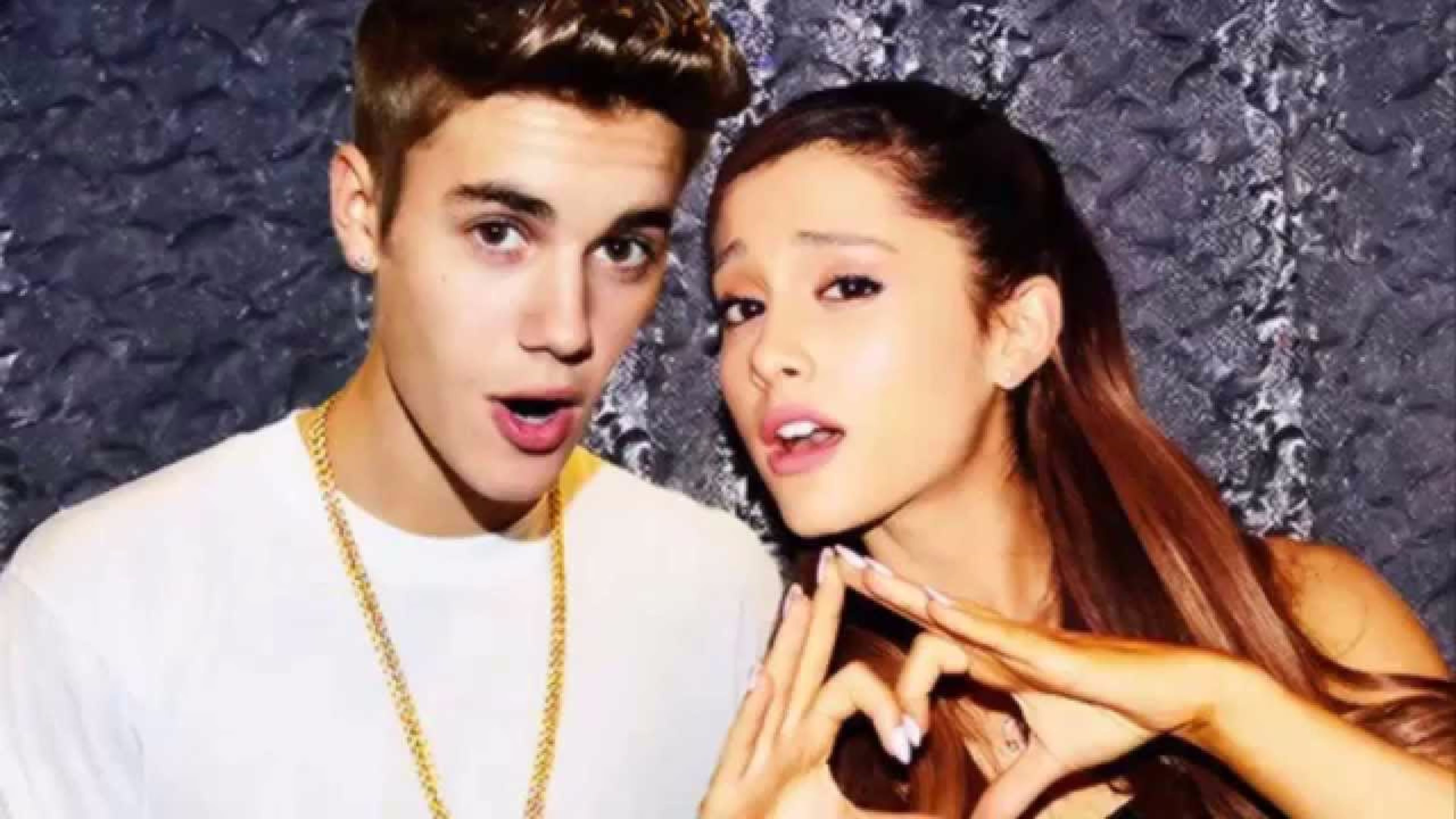 Justin Bieber and 4K Ariana Grande Wallpaper 4K 3840x2160