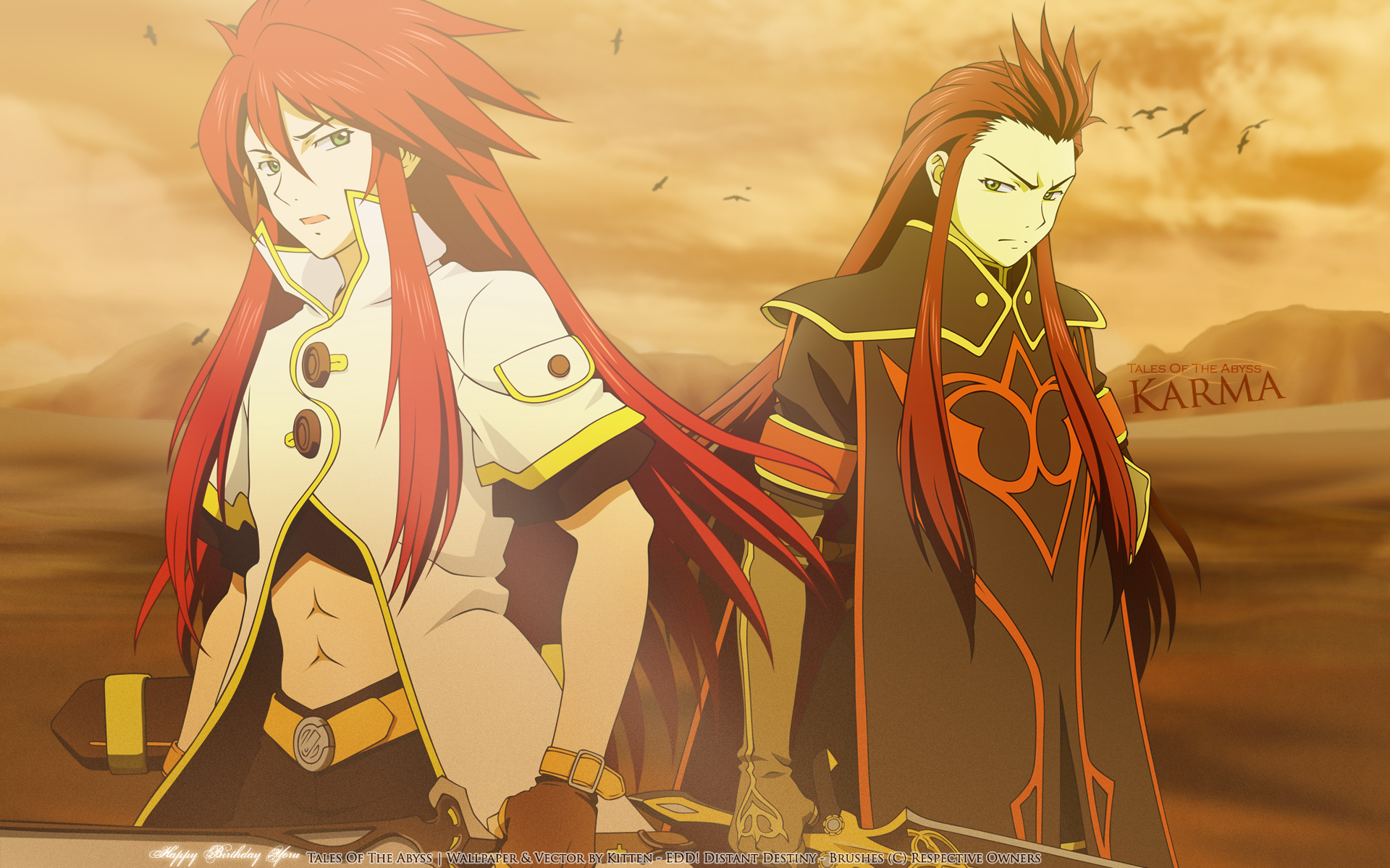 Tales Of The Abyss Computer Wallpapers Desktop 1920x1200
