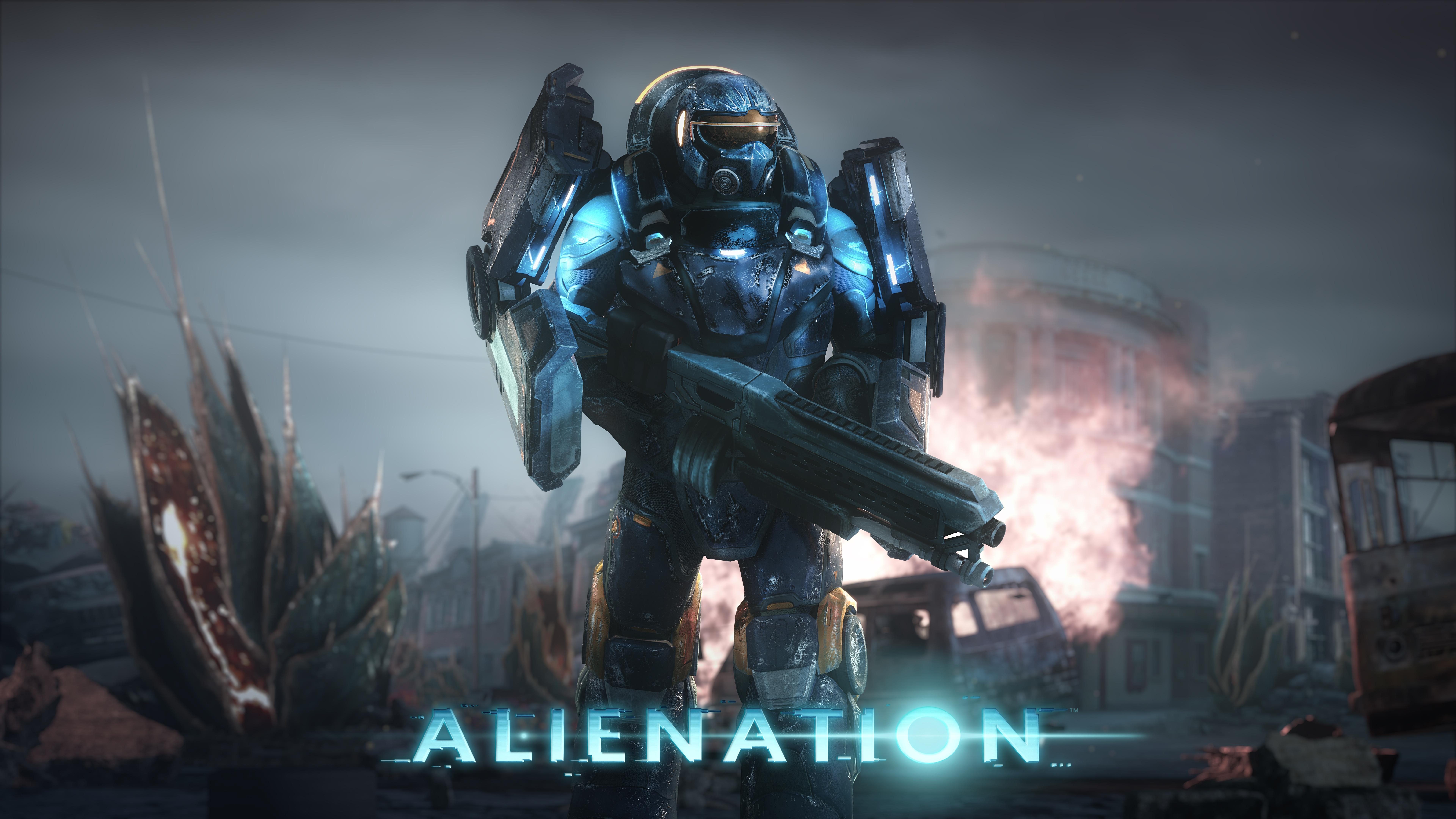 Alienation PS4 Game 4K 8K HD Wallpaper   iHD Wallpapers 7680x4320
