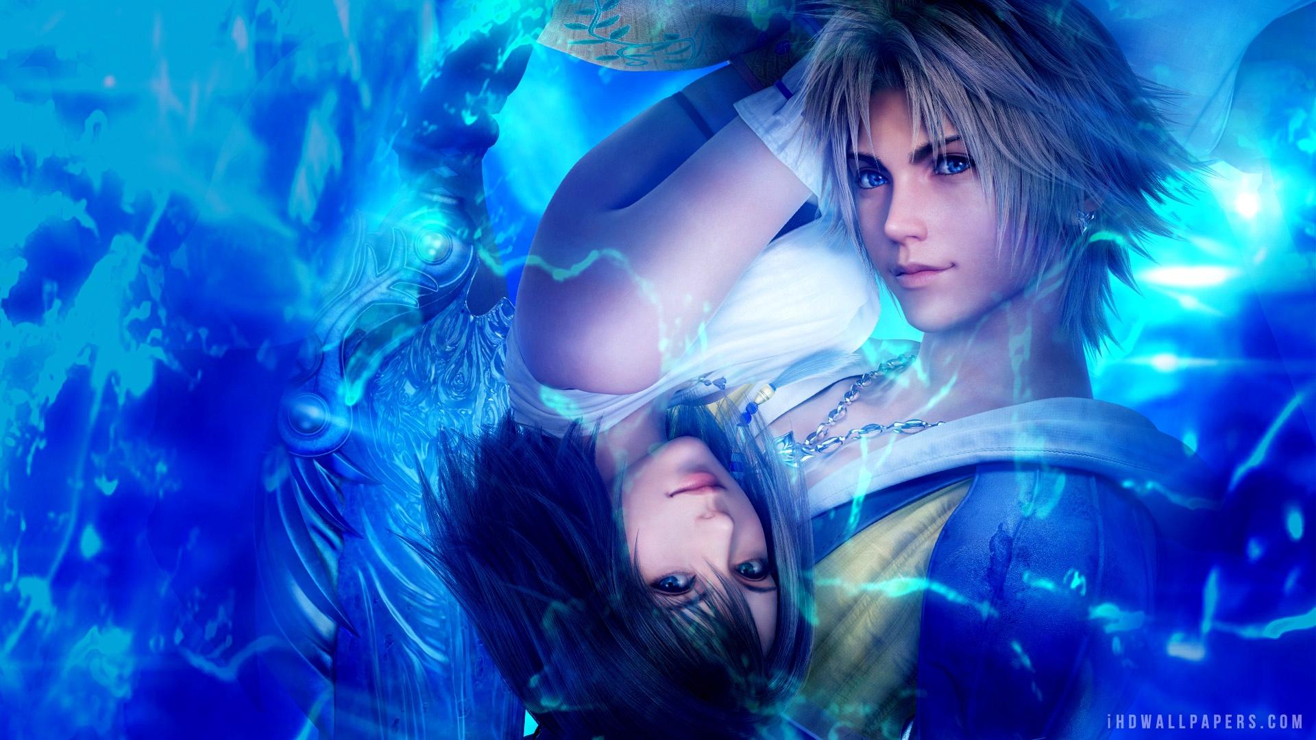 Yuna Tidus Final Fantasy X HD Wallpaper   iHD Wallpapers 1920x1080