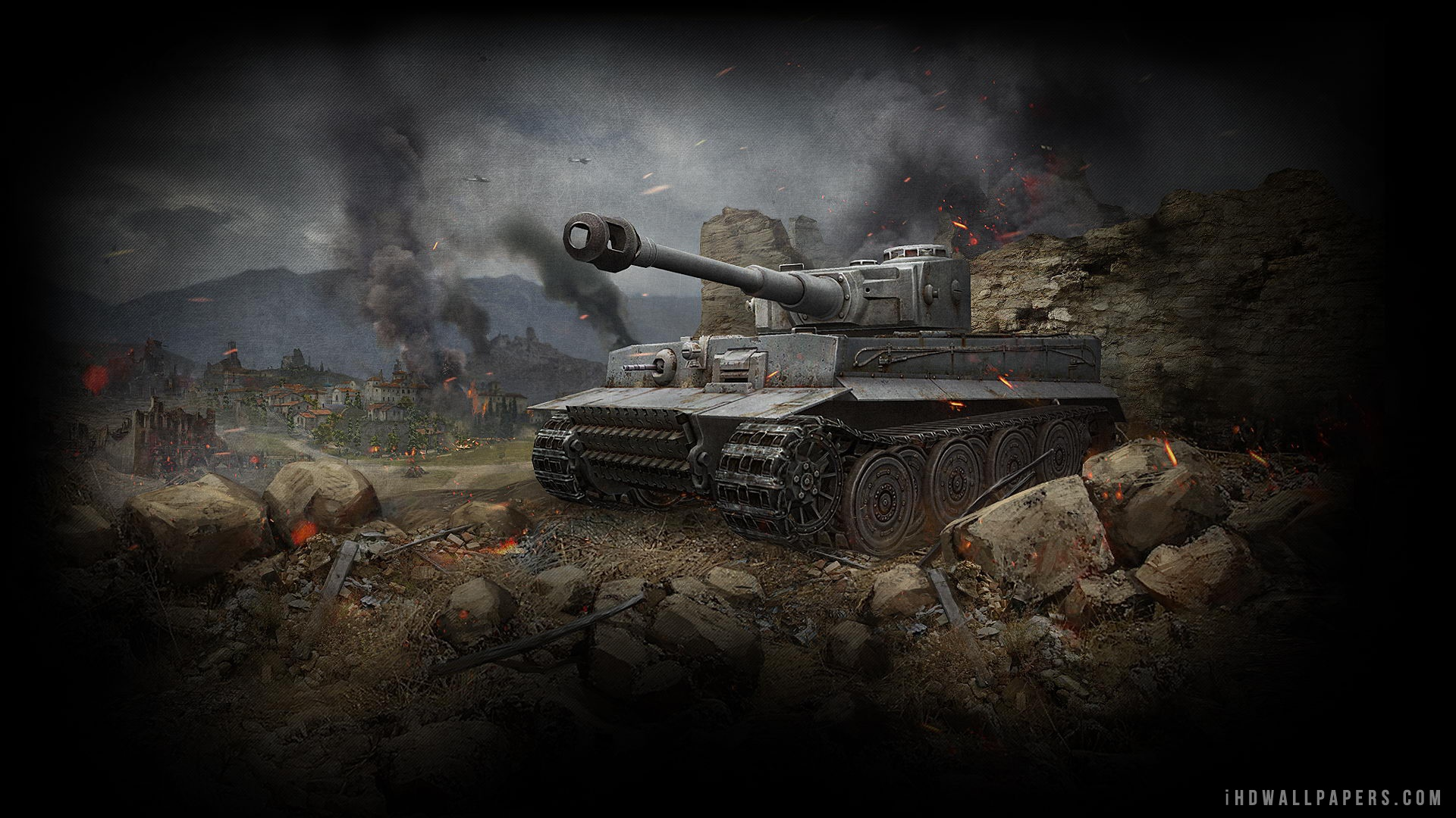 Tiger Tank World of Tanks HD Wallpaper   iHD Wallpapers 1920x1080