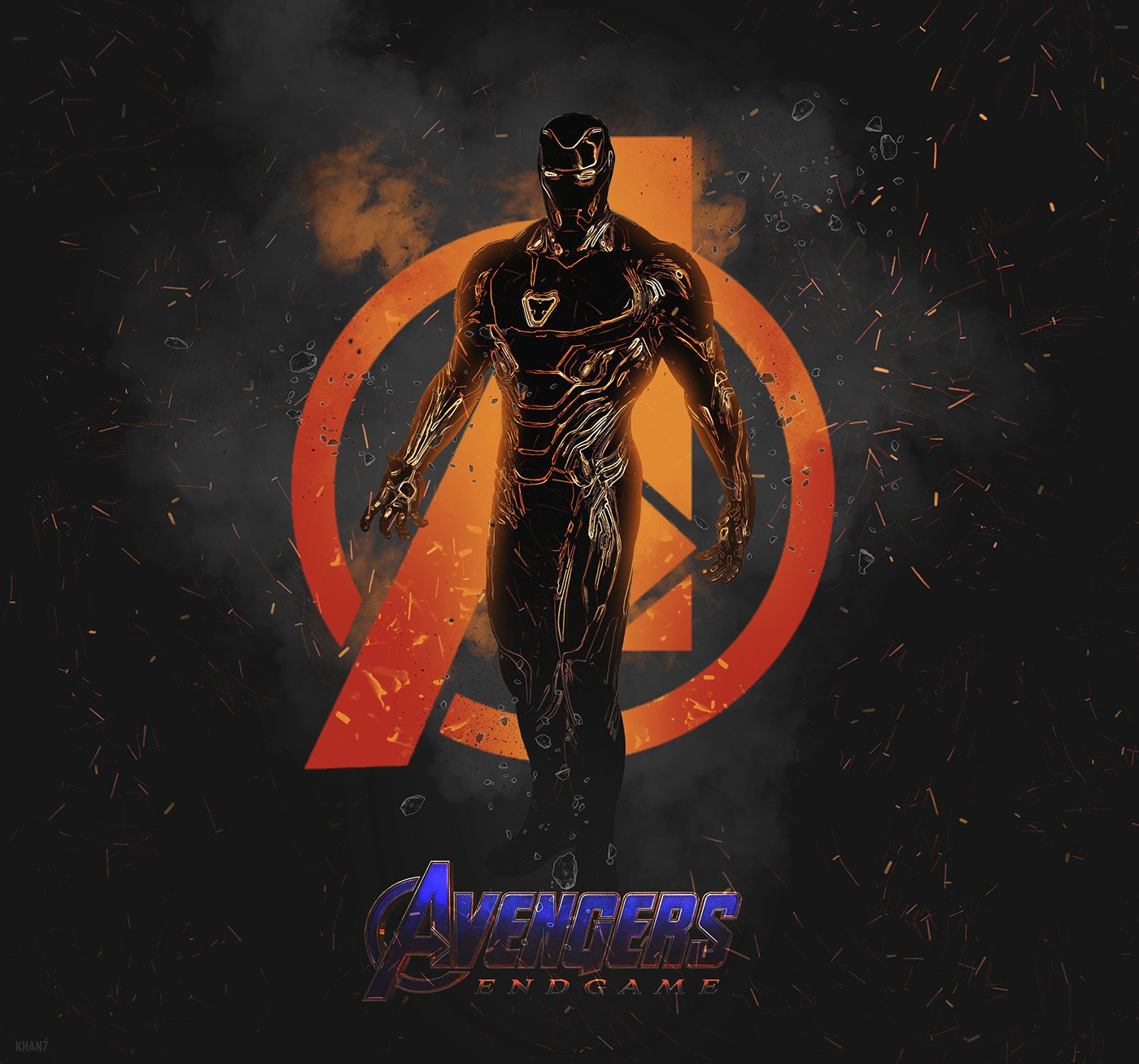 Free Download Iron Man Dope Wallpaper Avengers Endgame Art By