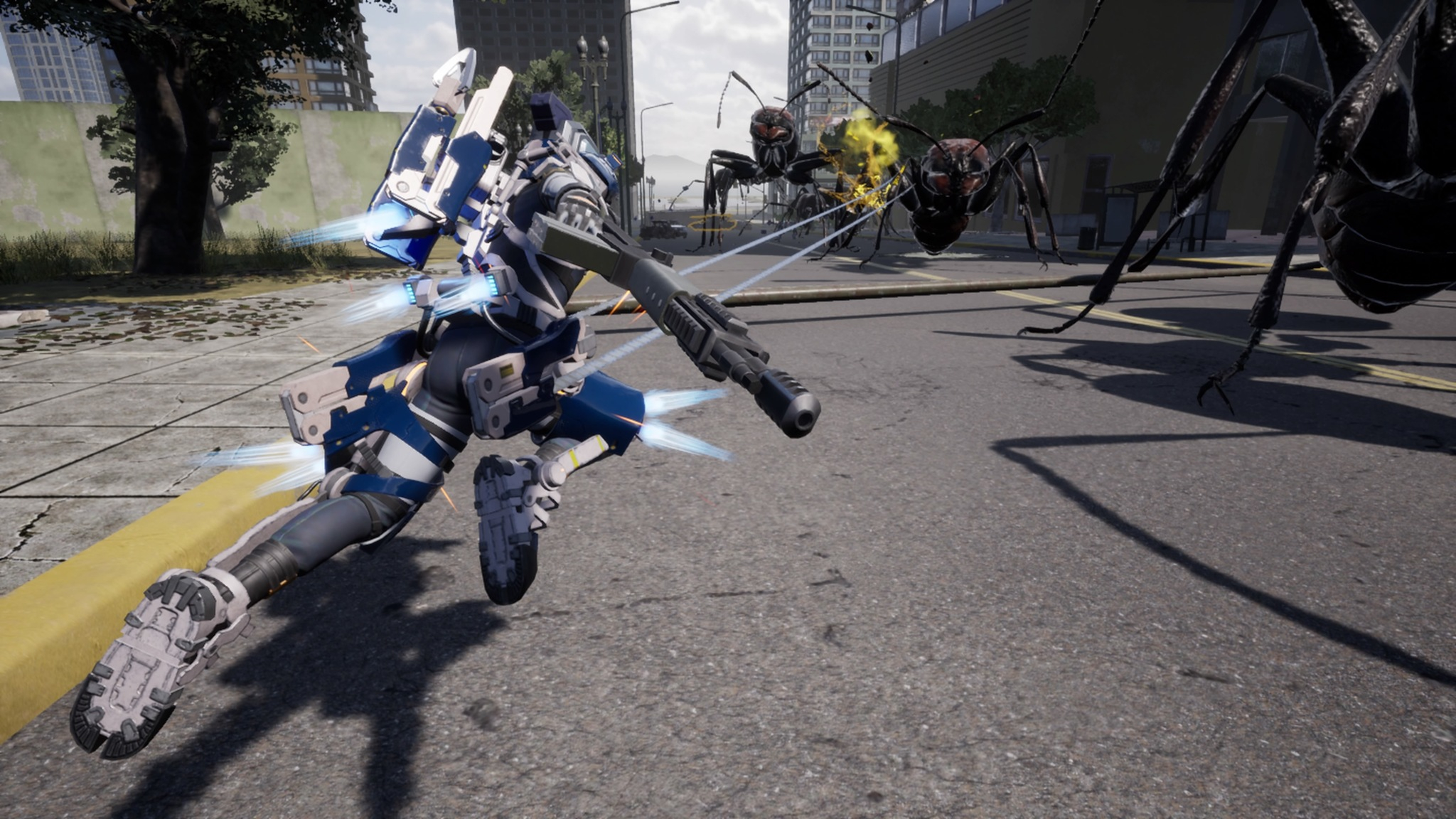 Earth Defense Force Iron Rain Will Launch Exclusively on PS4 in April 2048x1152
