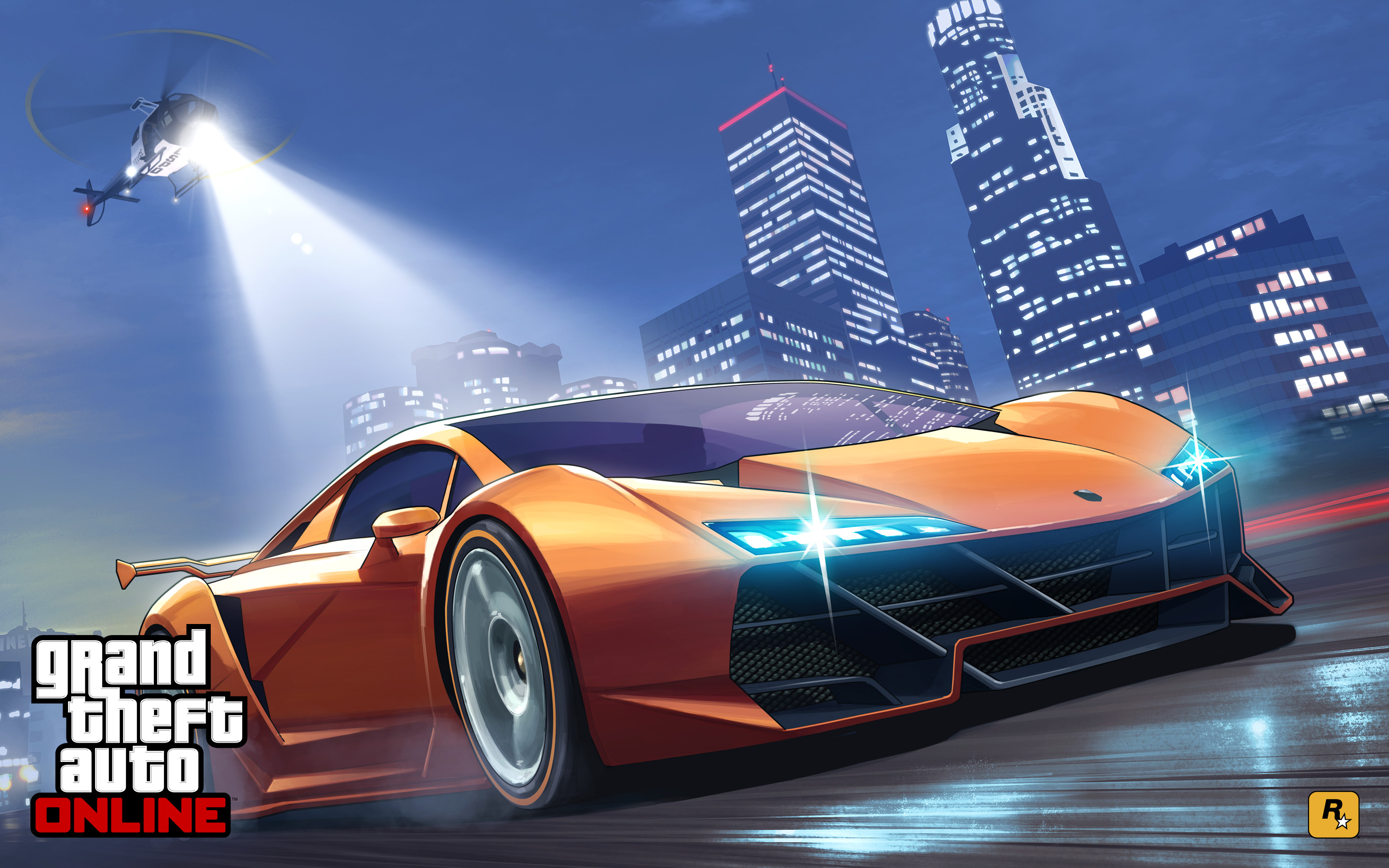 Grand Theft Auto Online 2015 Wallpapers HD Wallpapers 2880x1800