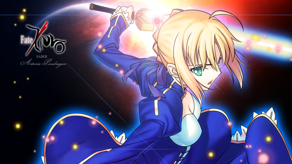 FateZero Saber Desk top wallpaper by P O N T A 1024x576