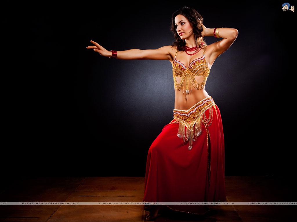 Dancer Wallpaper 1024x768