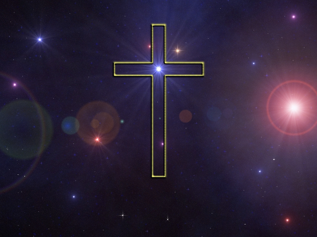 Shining Cross Wallpaper   Christian Wallpapers and Backgrounds 1024x768