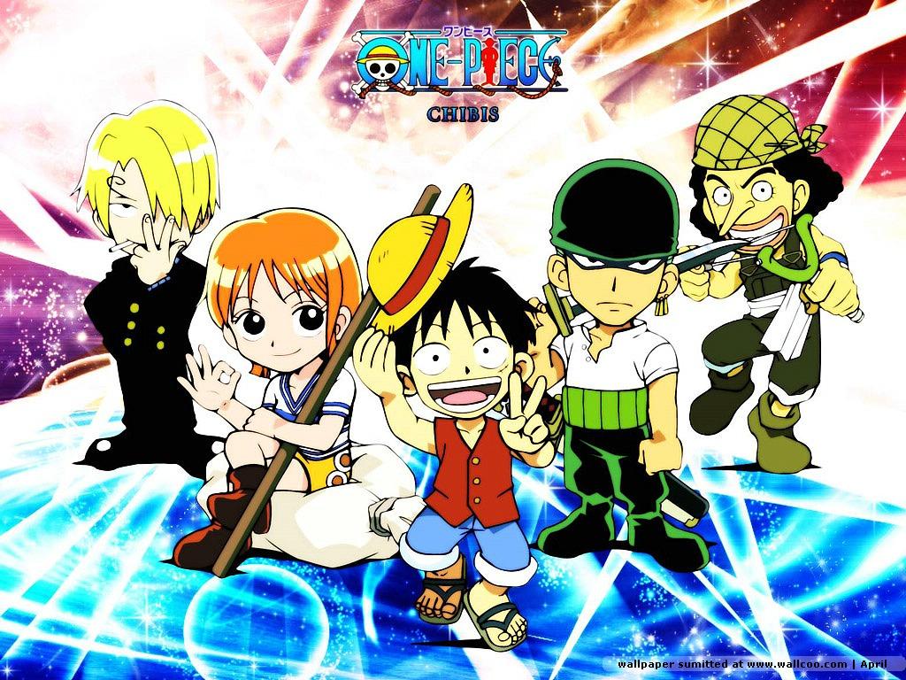 Estes Wallpapers so do anime One Piece espero que gostem 1024x768