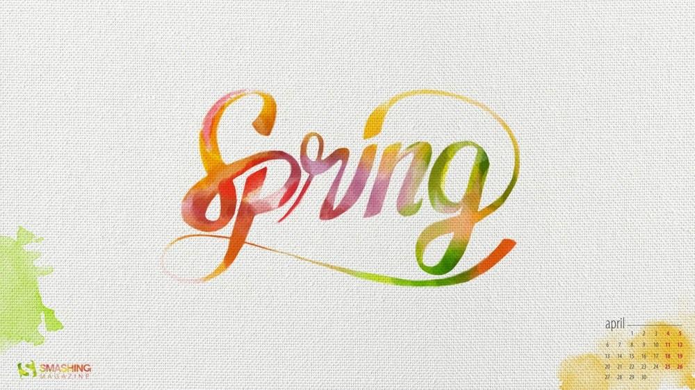 Download Smashing Magazine Desktop Wallpaper Calendar April 2015 1000x562