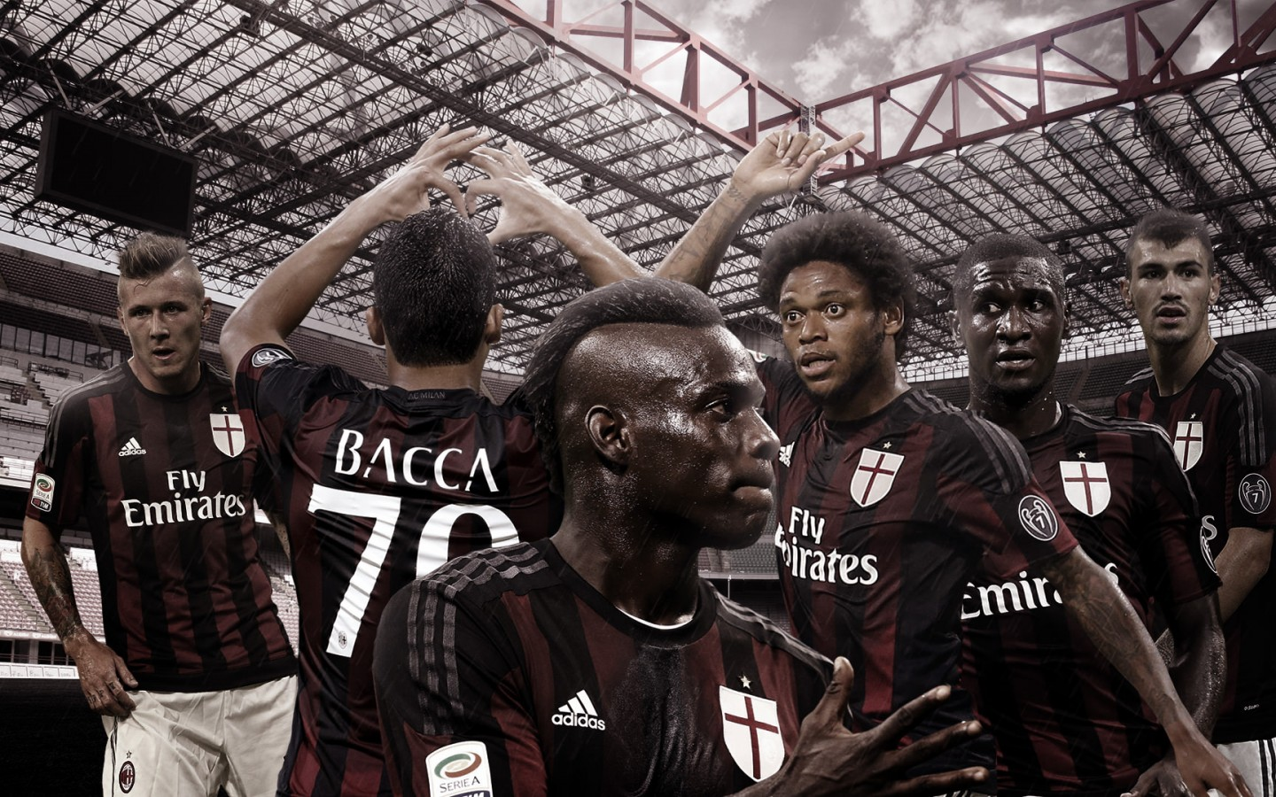 AC Milan 20152016 Wallpaper   Football Wallpapers HD 1440x900