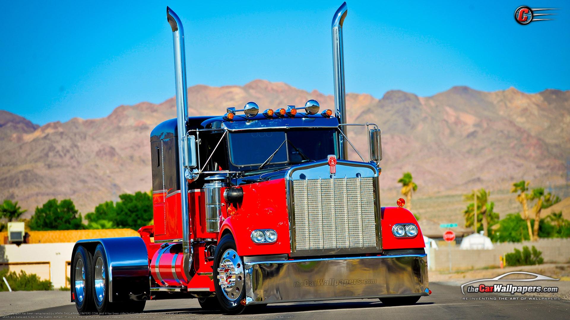 semi truck desktop wallpaper Car Tuning 1920x1080