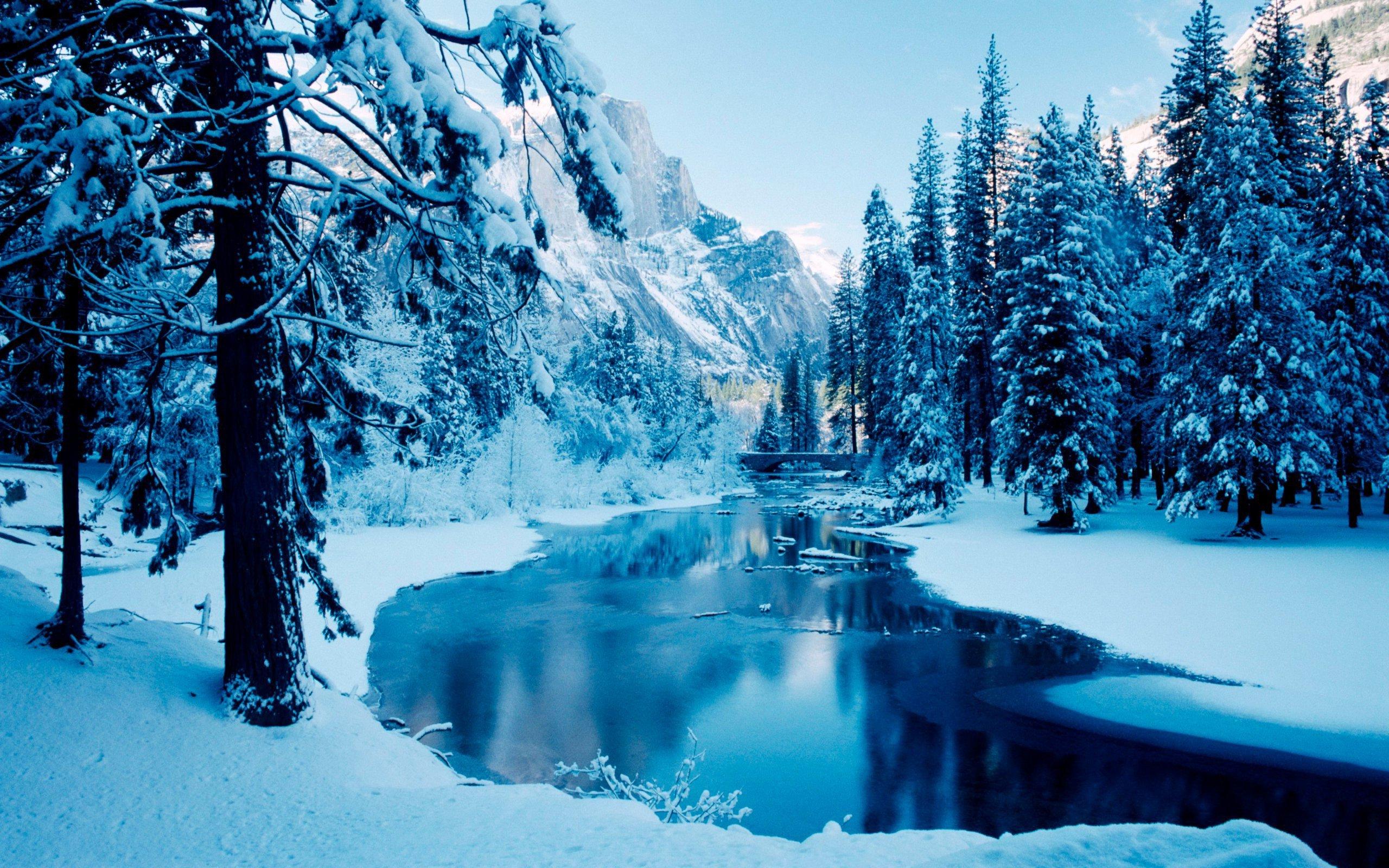 Wallpaper Desktop Winter Scenes 53 images 2560x1600