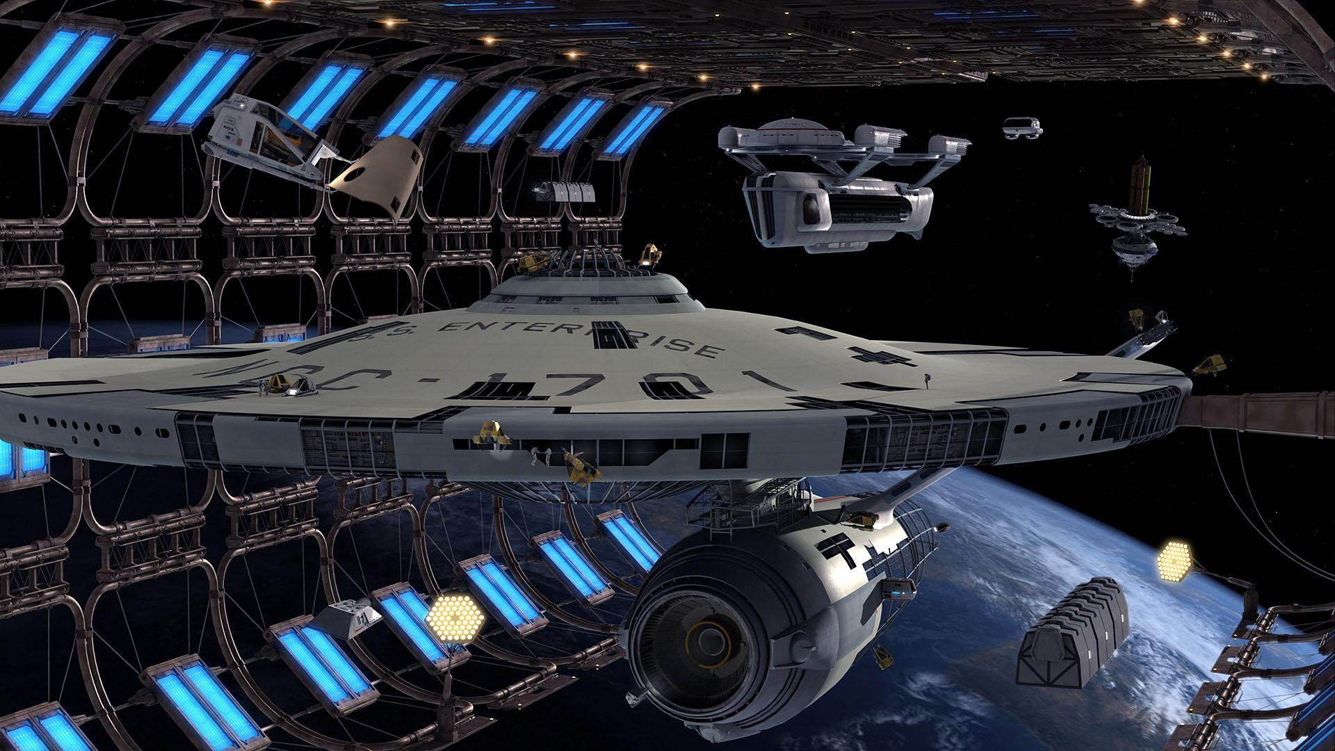 Star Trek Wallpaper 1920x1080 Star Trek Ships USS Enterprise 1920x1080