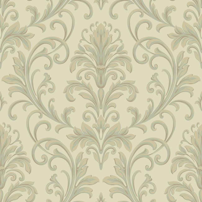Beige Grey HD6955 Feathered Damask Wallpaper   Textures Wallpaper 650x650