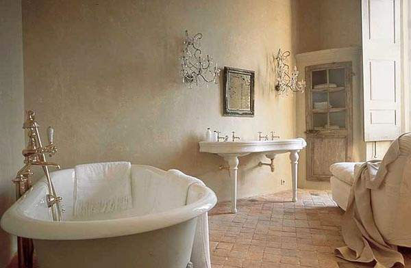 Bathroom wallpaper 600x392