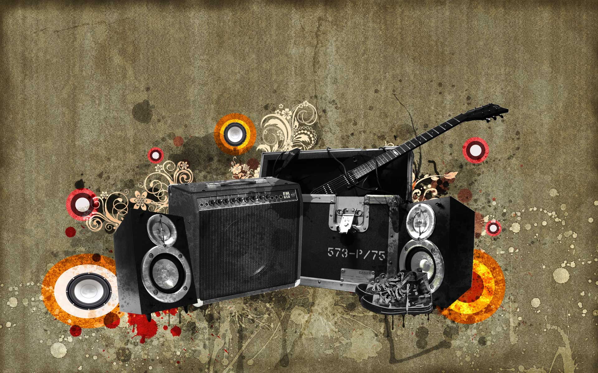 wallpaper create awesome music art cool images adobephotoshop 1920x1200