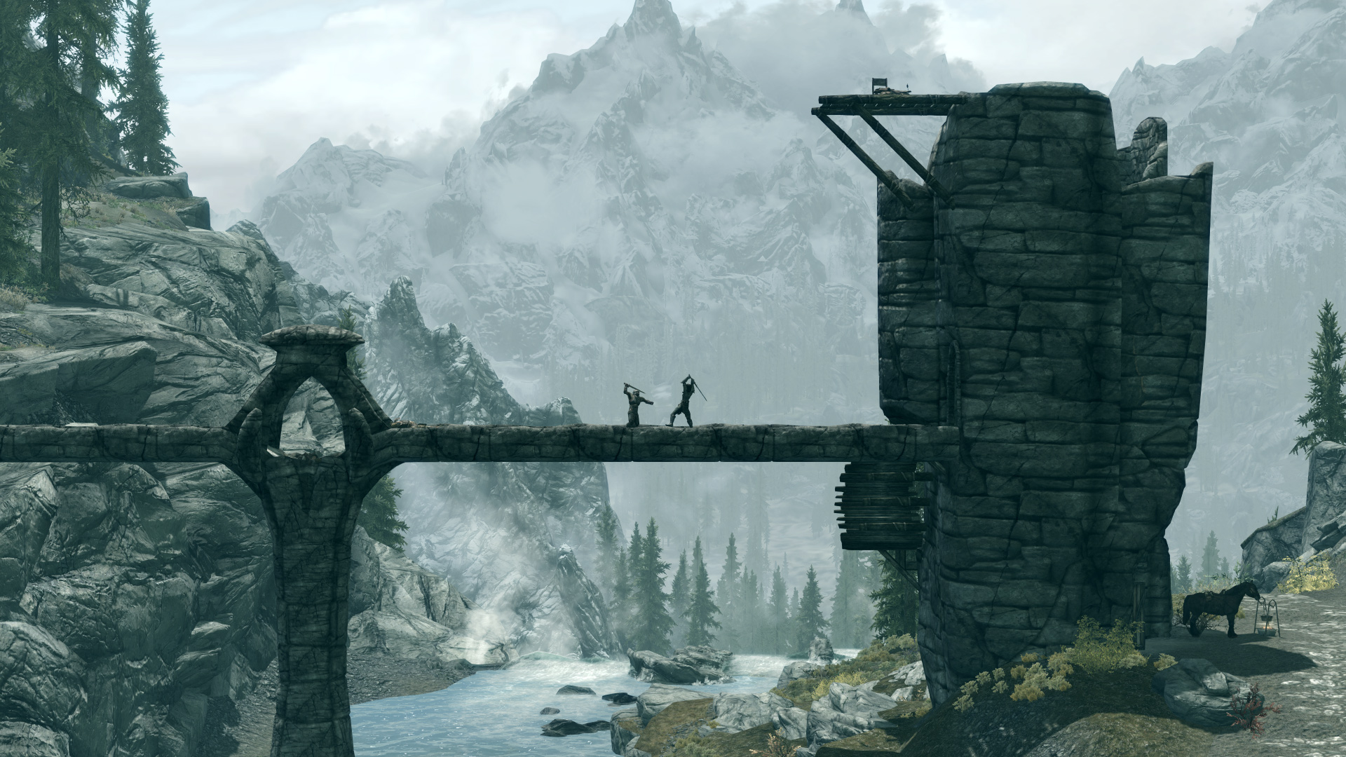 Just for you 10 full HD Skyrim wallpaper backgrounds Oh how I loved 1920x1080