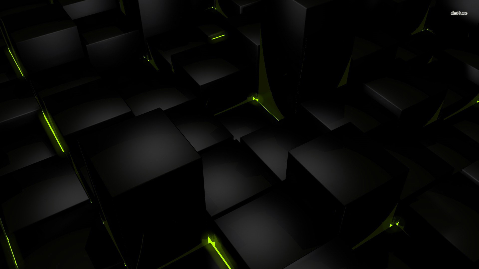 to set this 3d black cubes backgrounds wallpapers1 as wallpaper 1920x1080