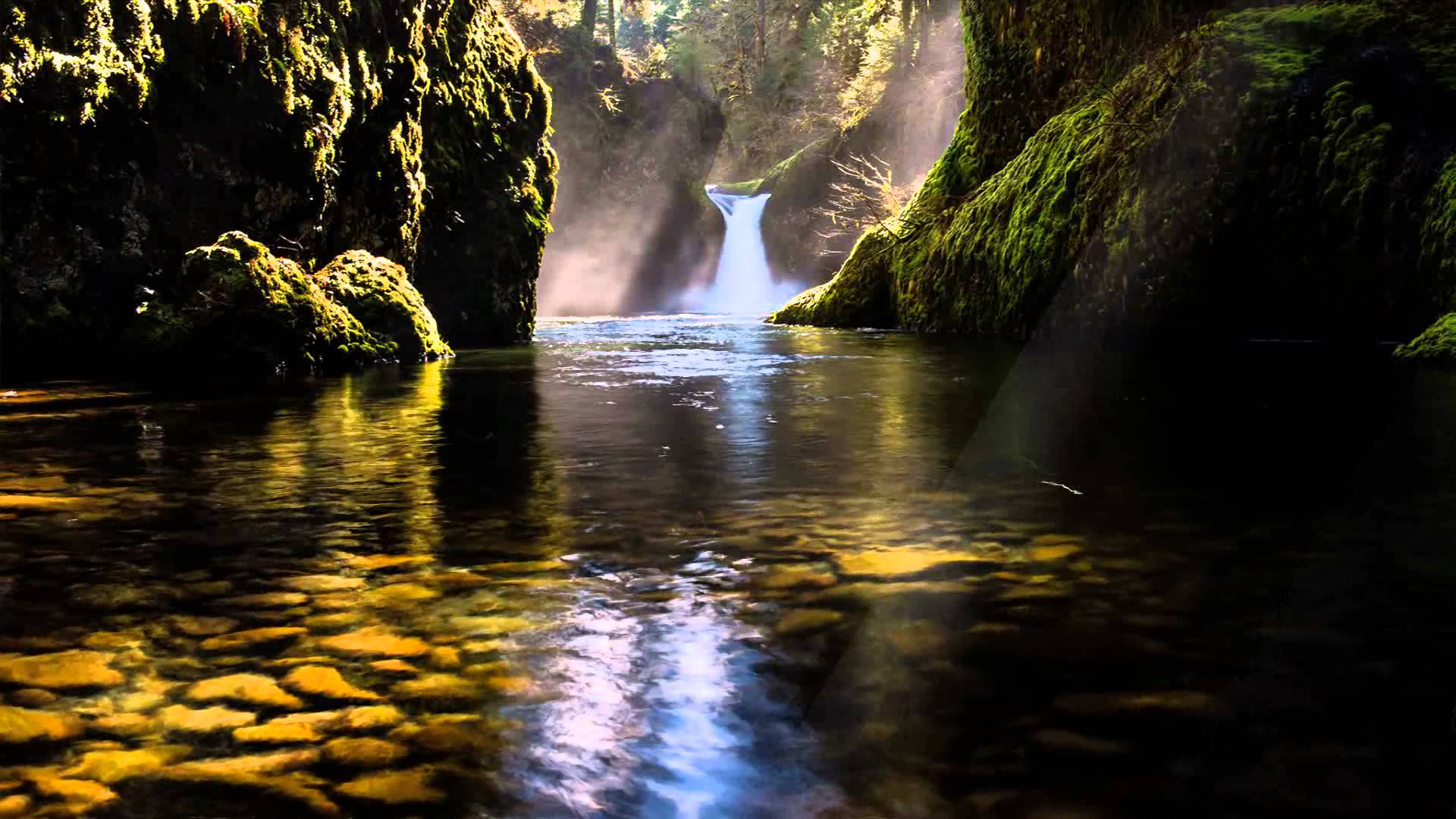 moving waterfall screensaver with - photo #17